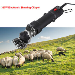 320w Electric Farm Supplies Sheep Goat Shear Animal Grooming Shearing Clipper Us