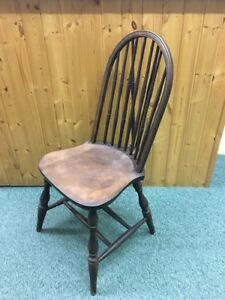 Heywood Wakefield Colonial Braced Desk Chair Vintage Windsor Nice