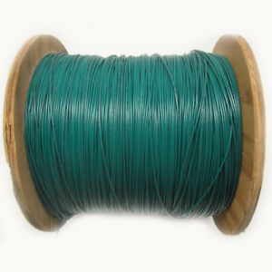 New 4 000 Ft Ul1015 22awg Green Hook Up Wire 600v Stranded Electrical