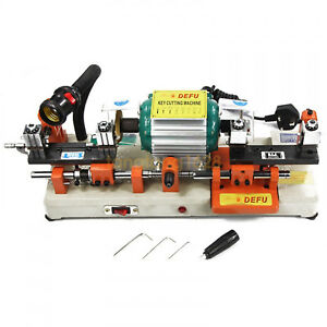 Laser Copy Duplicating Machine Df 238bs With Full Set Cutters F Locksmith Tools