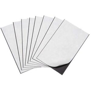 50 Magnetic Sheets 5 X 7 Adhesive 20 Mil