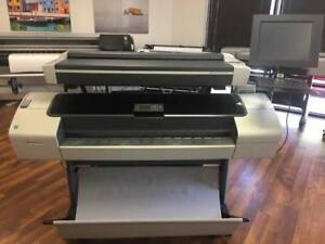 Hp Designjet T1100 Hd Mfp 44 Cad Wide Large Format Printer Plotter