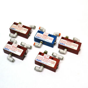 lot Of 5 Aladco 301201 1 8 Nptf Nu check Pneumatic Valve 4 W bspp