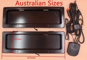 Hide Chile Plate License Number Shutter Stealth Car Cover Reg Anti Police Camera