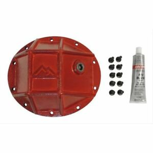 Rt Off road Rt20025 Dana 35 10 bolt Steel Red Powdercoated Differential Cover