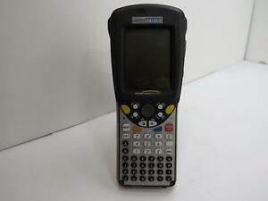 2 Used Psion Teklogix Workabout Pro Handheld Barcode Scanner