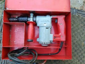 Hilti Te17 Rotary Hammer Drill With Steel Case