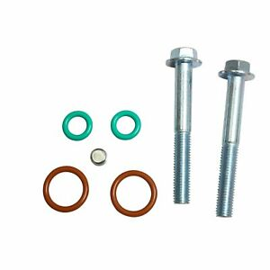 For Ford 7 3l 99 5 03 Housing Turbo Pedestal Rebuilt Kit 5 5 Wheel Up Pipe