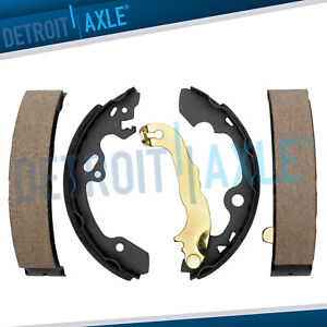 Rear Ceramic Brake Shoes For 2000 2001 2002 2003 2004 2005 2006 2011 Ford Focus