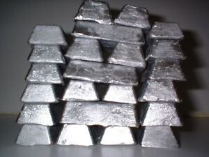 25+ lbs clip on wheel weight lead ingots cleaned once