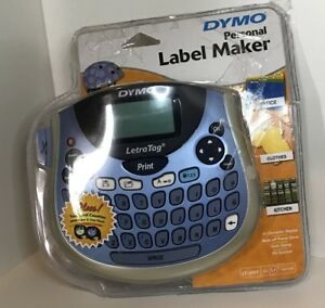 Dymo Letratag Lt100t Plus Compact Portable Label Maker With Qwerty Keyboard Xtra