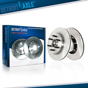 Front Brake Rotors For 2004 2008 Ford F150 2006 2007 2008 Mark Lt 2wd 6 Lugs