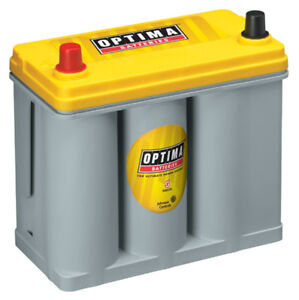 Optima Battery Battery Yellow Top 450cc A 575ca 51 Top Post P N 8071 167