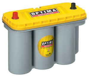 Optima Battery Battery Yellow Top 900cc A 1125ca 31 Top Post P N 8051 160
