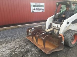 2014 Bobcat 68 Industrial Grapple Bucket For Skid Steer Loaders