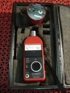 Quest Electronics 211a fs Sound Level Meter W permissible Calibrator Ca 12b