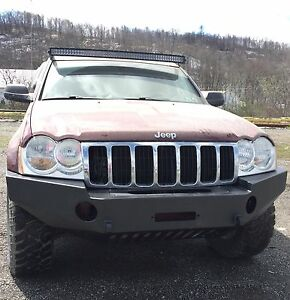 Jeep Grand Cherokee Bumper Wk Bumper 05 07 Winch Bumper made In Usa
