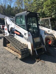 2013 Bobcat T770 Tracked Skid Steer Loader W Cab Joysticks Coming Soon