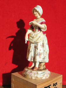 A2809 Antique 19th Century Porcelain Figure Of A Maid German Or French