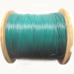 New Approx 4 500ft 22awg Green Ul1015 Hook Up Wire 600v Stranded Electrical