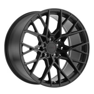 4 New 19x8 5 Tsw Sebring Matte Black Wheel Rim 5x120 Et15 5 120 19 8 5