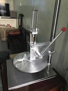 Household Pizza Dough Pastry Manual Press Machine Metal Plate 36cm
