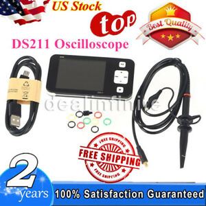 Ds211 Arm Nano Mini Pocket Portable Handheld Digital Storage Oscilloscope Dso