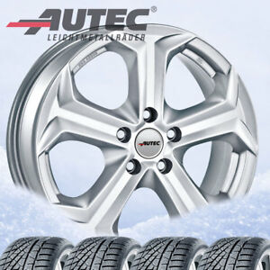 4 Winter Wheels Tyres Xenos Sil 215 60 R17c 109t For Vw T6 Hankook Winter Rw0