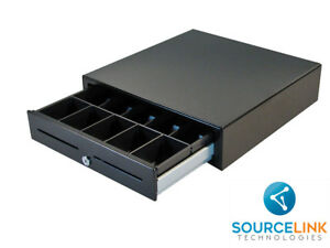 35 Apg Vasario Vb554a bl1616 Cash Drawer Usb Works W Square Stand New