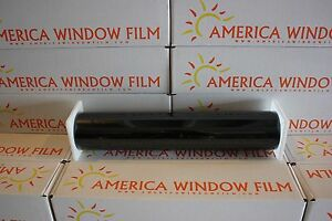 Window Film Tint Titanium Hp 2 Ply Black Silver 3 40 X 100 Ft Made In Usa