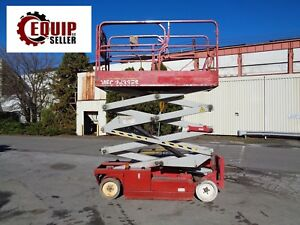 2009 Mec 2633es Electric Scissor Man Aerial Boom Lift 26ft Height