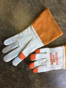 12 Pair Cowhide Mig tig Welding Gloves Size Small 1 Dozen Sz S