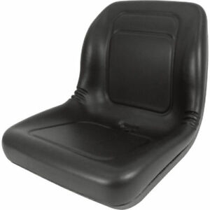High Back Seat For John Deere Trail Turf Gator Skid Steer Loader 70 125 240