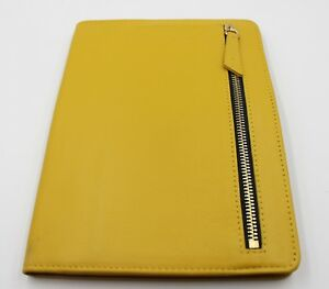 Classic Franklin Covey Gold Leather Kenzie Wirebound Compass Planner Cover C