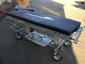Stryker Insta Care Stainless Steel Hospital Bed With Wheels
