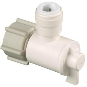 Watts Quick Connect Stop Angle Valve
