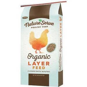Natureserve Organic Layer Pellet Chicken Feed