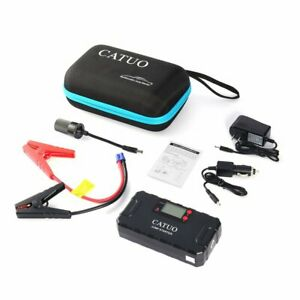 Catuo 13600mah Portable Auto Car Jump Starter Battery Booster Withusb Power Bank