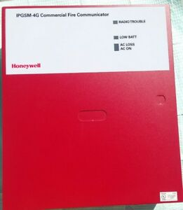 Honeywell Ipgsm 4g Fire Alarm Communicator Control Panel
