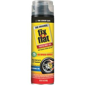 Fix A Flat Tire Puncture Sealer And Inflator