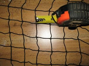 Authentic Fishing Net 15 X 25 Black Vintage Used Fish Netting Decorative