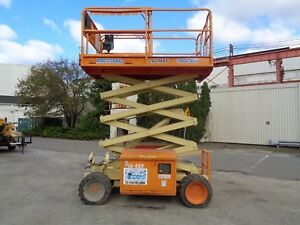 2008 Jlg 260mrt 26ft Rough Terrain Scissor Boom Man Aerial Lift 4x4