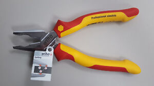 Linesman Combination Pliers 7 Inch Insulated 1000 Volt High Voltage Wiha 32816