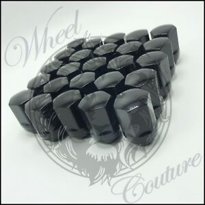 20 Chevy Camaro Factory Style Black Lug Nuts 14x1 5 For Oem Factory Wheels