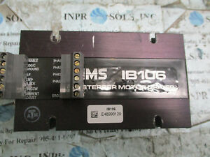 Ims Ib106 Stepper Motor Driver Intelligent Motion System fully Tested
