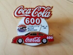 Coca Cola 600 From Charlotte 96-97/ Total collector piece......