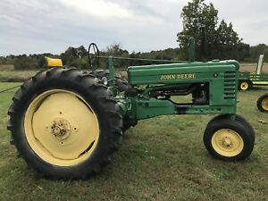 1947 John Deere B Antique Tractor