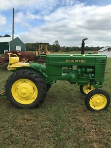 1948 John Deere M Antique Tractor