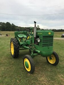 1946 John Deere La Antique Tractor Smallest John Deere New Tires