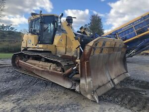 2016 John Deere 850k Dozer Low Hours With Extended Warranty Hydraulic Winch
